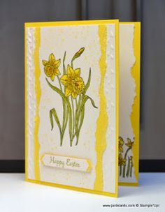 Hello, Crafters. I'm really willing Spring to hurry up to arrive, and how better than with beautiful daffodils. Yellow isn't one of my c...