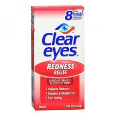 Clear Eyes säljes – Redness Relief 15 ml - Clear Eyes säljes hos oss till ett bra pris. Clear Eyes Redness Relief är smörjande ögondroppar som motverkar röda ögon.