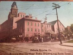 1913 Haberle Brewery on Butternut Street Syracuse, NY Beer Pics, Beer Pictures, Vintage Pictures, Old Pictures, Syracuse New York, Westchester County, Historical Photos, Brewery, Past