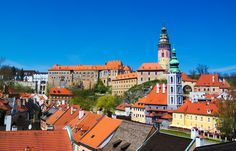 Canonical view of Cesky Krumlov