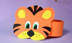 manualidades-con-niños-goma-eva-tigre