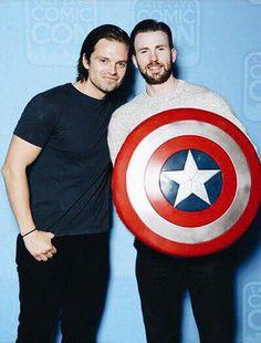 Captain and Bucky