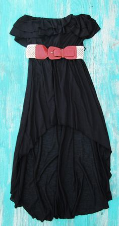 Gypsy Cowgirl High Low Dress with Belt western dresses at affordable prices cowgirl dresses, bohemian cowgirl dresses, and more! $29.99