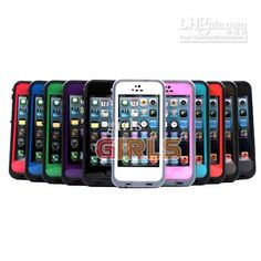 Wholesale Lifeproof Waterproof Shockproof Case Cell Phone Case For iPhone 5G, Free shipping, $9.27-9.74/Piece   DHgate