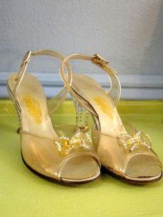more vintage lucite heels