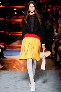 #MiuMiu #Spring2014 #Catwalk #trends #ParisFafhionWeek #Paris #SS2014 #tangerineTango #biasCut