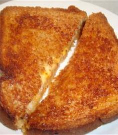 Oven Grilled Cheese - Crispier than regular grilled cheese