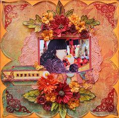 BoBunny: November Blog Class Teaser & Autumn Song Layouts