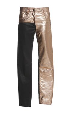 Leather Panelled Trouser by HAIDER ACKERMANN for Preorder on Moda Operandi