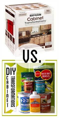 DIY Rustoleum Cabinet Transformations Kit * NO YELLOWING, NO GLOBS, LESS EXPENSIVE * paint kitchen cabinets makeover budget