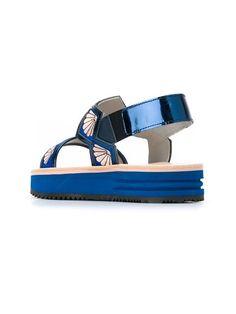 Markus Lupfer sling-back shell sandals