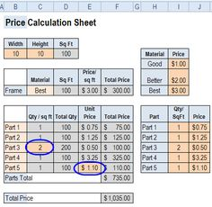 Use colour codes for Excel troubleshooting. Where are formulas, constants?