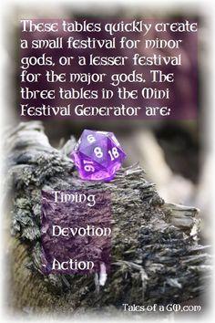 Minor Festival Gener