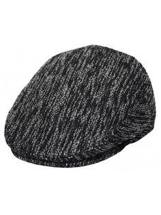 Men s Classic Newsboy Cap- Flat Ivy Hat- Snap Brim Herringbone Tweed Cap -  Dk.gray Tweed2066 - CZ186XZEZCA 7209f1761e5
