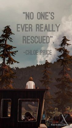 Under appreciated quote from Brave New World (episode where Chloe is cleaning out her locker and finds a picture of her dead cat, Bongo. Life Is Strange Fanart, Life Is Strange 3, Arcadia Bay, Dontnod Entertainment, Cry Now, Chloe Price, Appreciation Quotes, Brave New World, Amazing Adventures