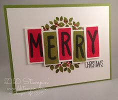 DD Stampin': The Wacky Watercooler Blog Hop presents Christmas in July (and other things)