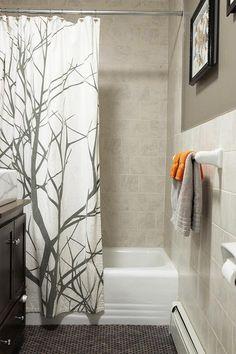 Master Bathroom Ideas On Pinterest Bronze Bathroom Gray Bathrooms And Shower Curtains