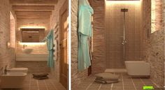 Italian bathroom style - design by Architect Massimo Gallo   Interni e Progetti