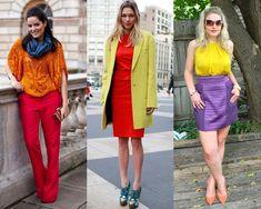 Vídeo | Ep. 4 Combinações de looks Tríades (Série sobre como combinar CORES) Color Blocking Outfits, Moda Fashion, Diy Fashion, Ideias Fashion, Color Combinations, Color Schemes, Neon Yellow, Color Inspiration, Everyday Fashion