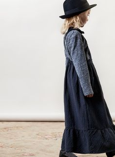 Tocoto Vintage Girls Dots Long Dress