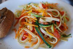 Essa receita de espaguete de abobrinha com cenoura é uma das mais fáceis de se preparar. Se você tiver as ferramentas certas, já é mais do que meio caminho andado. ...