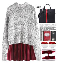 """reflections of us"" by scarlett-morwenna ❤ liked on Polyvore featuring WithChic, The Cellar and vintage"
