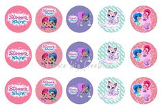 Shimmer and Shine bottlecap images for hair bows FREE!