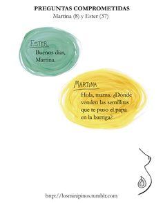 #losminipinos #esterytelling #frases #quotes #kids #madre #embarazo #semillas