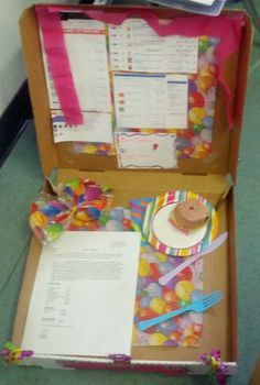 Planning a Birthday Party Math Project