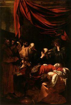 Michelangelo Merisi, detto il Caravaggio (Milano, 1571 - Porto Ercole, 1610) Morte della Vergine, 1605/1606