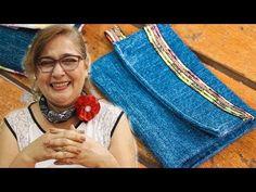 Carterita/monedero super facil, reutilizando retazos de tela/Purse wallet easy reusing fabrics/diy - YouTube Purse Wallet, Crochet Necklace, Purses, Sewing, Cheesecake, Denim, Bag, Crafts, Ideas