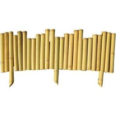 Backyard X-Scapes 7/8 in. x 8 in. x 23 in. Bamboo Border (5-Piece)-HDD-BAMA-BB02 at The Home Depot