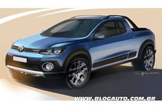 VW Polo Pickup. Wonder why VW never thought of this!