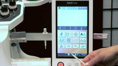 Brother™ Multi-Needle Embroidery: Entrepreneur® Pro PR1000e Settings Pages