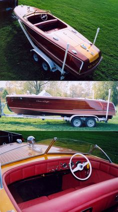 1947 Chris Craft Custom Runabout for Sale Wooden Speed Boats, Chris Craft Boats, Classic Wooden Boats, Boat Engine, Wooden Boat Plans, Old Boats, Boat Stuff, Power Boats, Luxury Yachts