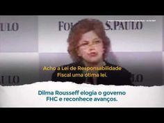 Dilma Rousseff elogia a Lei de Responsabilidade Fiscal