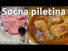 Sočna piletina, zapečena, polako dinstana u bujonu sa povrćem - YouTube