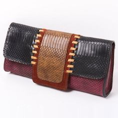 Scale Clutch Black now featured on Fab for Nan's birthday. :-)