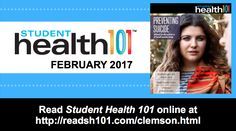 Check out Feb. issue of Student Health 101!