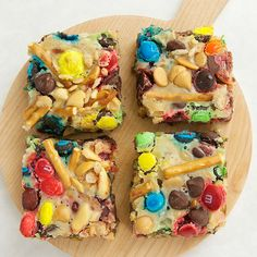 Use your favorite ingredients to construct these Build-a-Bars.