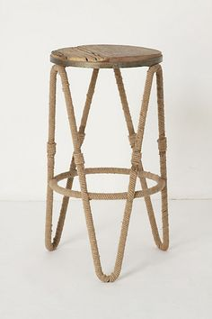 Reata Counter Stool Anthropologie  roughluxeperspective.blogspot