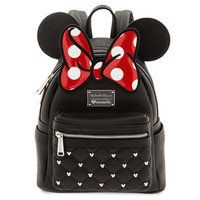 Minnie Mouse Icon Mini Backpack by Loungefly