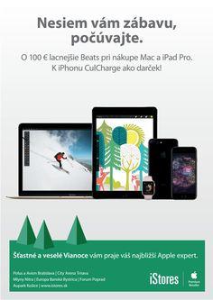Vianoce 2016 v iStores Apple Tv, Apple Watch, Mac, Ipad Pro, Iphone, Poppy