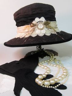 Edwardian Yorkshire Cloche