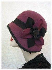 Marvelous Modern Version of a Vintage Cloche Hat
