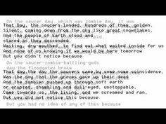 """""""The Day the Saucers Came"""" by Neil Gaiman (poetry reading)"""