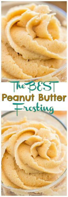 The BEST, richest, and fluffiest Peanut Butter Frosting! I have made this Peanut Butter Buttercream recipe countless times, and it's a tried-and-true staple!