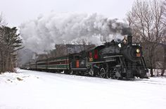 Conway Scenic Railroad - Steam locomotive #7470 was built by the Grand Trunk Railway Point St. Charles Shops at Montreal, Quebec, in 1921