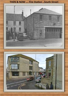 Fire Station, South Street Past & Present.
