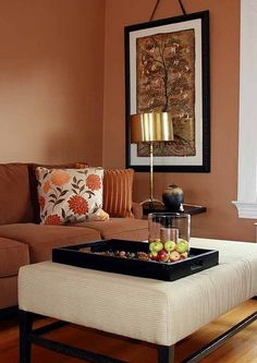 Beautiful warm colors...would be fun to work with ....Golden Dunes by Benjamin Moore